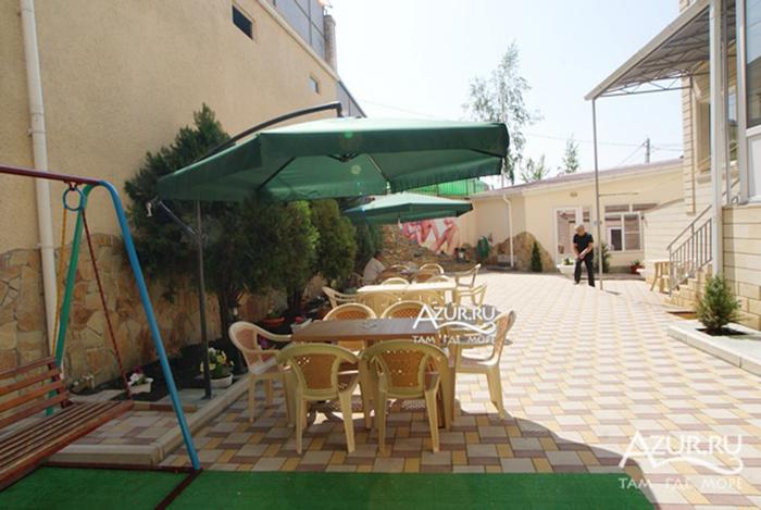 фото гостевых домов в витязево ергос
